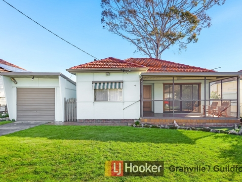 4 Harold Street Guildford, NSW 2161