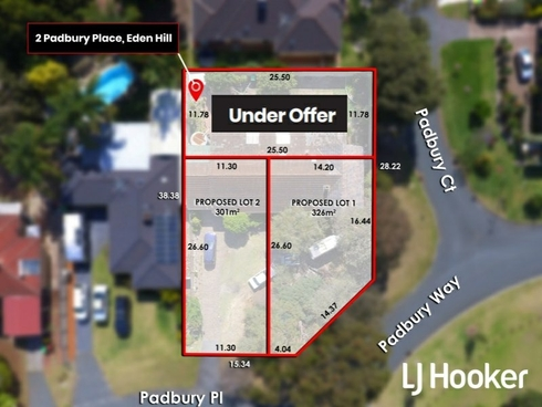 Lot 1-3/2 Padbury Place Eden Hill, WA 6054