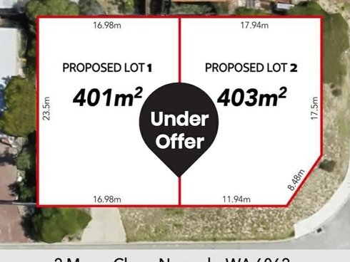 Lot Lot 1/2 Mayer Close Noranda, WA 6062