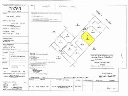 Lot 3/11 Weston Street Maddington, WA 6109