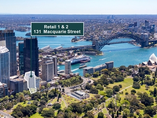 Retail 1 & 2/131 Macquarie Street Sydney , NSW, 2000
