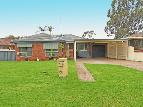 26 Carlyle Crescent Cambridge Gardens, NSW 2747