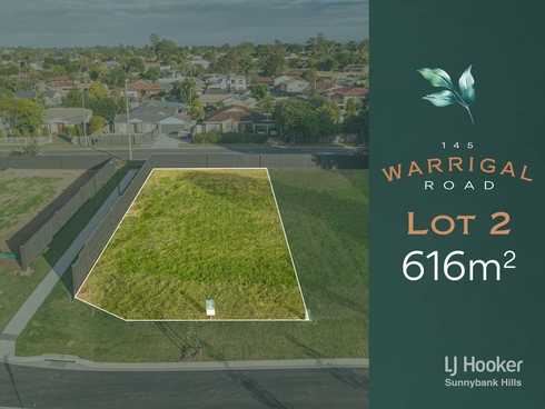 Lot 2/145 Warrigal Road Runcorn, QLD 4113