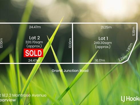 Lot Lot 1 & 2/2 Montrose Avenue Clearview, SA 5085